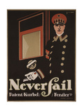 Never Fail Windows, 1911 Giclee Print by Hans Rudi Erdt
