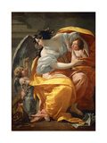 Allegory of Wealth Giclée-Druck von Simon Vouet