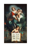 The Madonna of Justice Giclee Print by Bernardo Strozzi