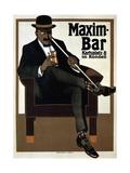 Maxim Bar, 1907 Giclee Print by Hans Rudi Erdt