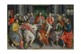 La última cena Lámina giclée por Maerten de Vos