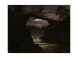 The Bridge Outside Arendal Giclee Print by Thomas Fearnley