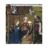 The Nativity Giclee Print by Jacques Daret