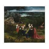 The Temptation of Saint Anthony Giclee Print by Joachim Patinir