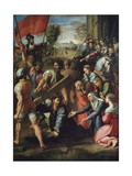 Christ Carrying the Cross Giclee Print by  Raphael