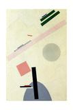 Suprematist Composition Impressão giclée por Kasimir Severinovich Malevich