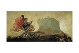 Asmodea or Fantastic Vision Giclee Print by Francisco de Goya