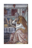Saint Augustine in His Study Giclee Print by Sandro Botticelli