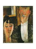 Les époux Impression giclée par Amedeo Modigliani