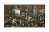 The Allegory of Sight Giclee Print by Peter Paul Rubens