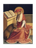 Saint Jerome as a Cardinal Wydruk giclee