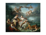 The Rape of Europa Giclee Print by François Boucher