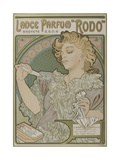 Lance Parfum Rodo Giclee Print by Alphonse Mucha