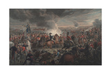 The Battle of Waterloo Giclee Print by Alexander Ivanovich Sauerweid