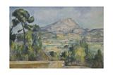 Montagne Sainte-Victoire, C. 1890 Giclee Print by Paul Cézanne