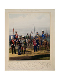 The 2nd Guard Cavalry Division, 1867 Giclee Print by Karl Karlovich Piratsky