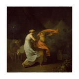 Julia and Fulvia Giclee Print by Nicolai Abraham Abildgaard