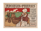 Amieux Freres, 1899 Giclee Print by Georges Fay
