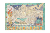 The Giant's Lair Giclee Print by Gerhard Munthe