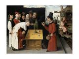 The Charlatan Giclee Print by Hieronymus Bosch