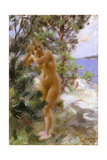 After the Bath Giclee Print by Anders Leonard Zorn