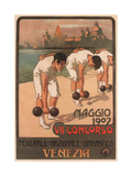 Vii Federal Gymnastics Competition, 1907 Giclee Print by Giovanni Battista Carpanetto