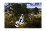 The Flight into Egypt Giclee Print by Joachim Patinir