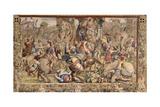 The Battle of Zama Giclée-tryk af Giulio Romano