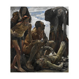 The Mourning Gicleetryck av Lovis Corinth