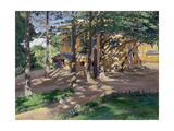 Savva Mamontov's Estate Abramtsevo Giclee Print by Sergei Arsenyevich Vinogradov