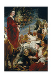 The Offering to Ceres Giclee-trykk av Jacob Jordaens