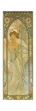 The Times of the Day: Evening Dream Giclee Print by Alphonse Mucha