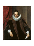 Portrait of Jacques Le Roy Giclee Print by Anthonis van Dyck