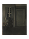 The Collector of Coins Giclee Print by Vilhelm Hammershoi