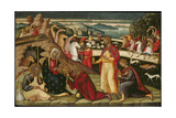 The Adoration of the Magi, C. 1525 Giclee Print by Ioannis Permeniatis
