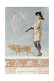 Pornokrates (La Dame Au Cocho) Giclee Print by Félicien Rops