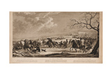 Race of Sledges at Krasny Kabachok (Little Red Taver), 1814 Giclee Print by Alexander Ivanovich Sauerweid