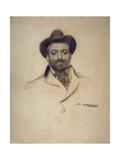 Portrait of Josep Maria Sert (1874-194) Giclee Print by Ramon Casas