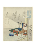 By the Light of a Lamp Giclee Print by Totoya Hokkei