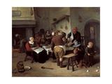 The Fat Kitchen Giclee Print by Jan Havicksz Steen