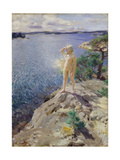 In the Skerries Giclee Print by Anders Leonard Zorn