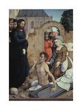 The Resurrection of Lazarus Giclee Print by Juan de Flandes