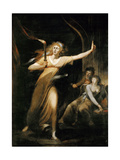 Lady Macbeth Walking in Her Sleep Giclee Print by Johann Heinrich Füssli