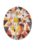 Full Moon Within Walls Giclee Print by Paul Klee
