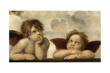 The Sistine Madonna (Detail) Giclee Print by  Raphael