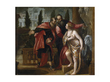 Susannah and the Elders Giclee Print by Paolo Veronese