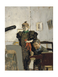 Vallotton and Natanson Giclee Print by Édouard Vuillard
