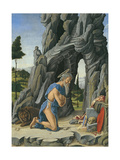 Saint Jerome in the Desert Giclee Print by Marco Zoppo