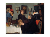 The Farewell Giclee Print by Harriet Backer