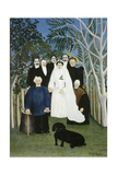 The Wedding Party Giclee Print by Henri Rousseau